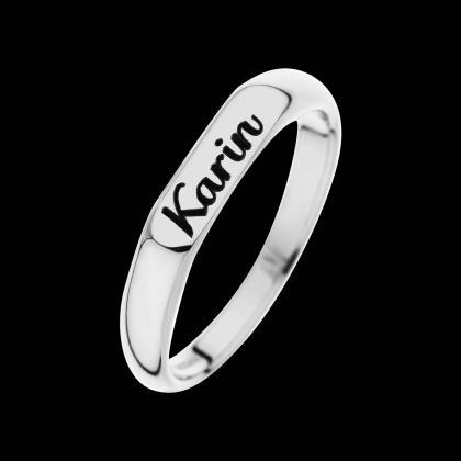 Personalized Ring - Custom Ring - E..